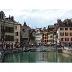 Le Thio River in Annecy, France