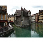 Palais de l'Ile in Annecy, France