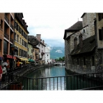 Annecy Town in France