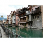 Buildings of Old Annecy, France