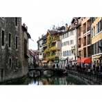 Cafes and Restaurants of Annecy, France