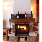 Log Fire at Samoens Apartment, Chez Michelle