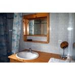 Main Bathroom at Chez Michelle Apartment in Samoens