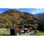Autumn View from Chez Michelle, Self Catering Accommodation in Samoens