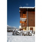 Side View of Chez Michelle Self-Catering Apartment in Les Vallons, Samoens