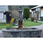 Drinking Fountains of Les Vallons in Samoens