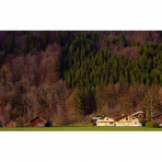 Autumn View from Chez Michelle Self-Catering Accommodation in Les Vallons, Samoens