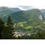 Samoens Village, Haute-Savoie, France