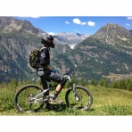 Mountain Biking in the Grand Massif, French Alps