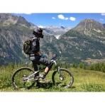Mountain Biking in the Grand Massif, French Alps