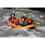 Raft the Giffre River in Samoens, French Alps