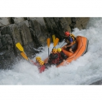 White Water Rafting the Giffre River in Samoens