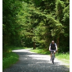 Cycling from Samoens to Morillon, France