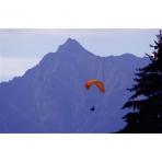 Paraglide in Samoens, Grand Massif