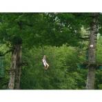 Morillon Adventure Park Zip Wire, French Alps