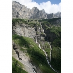 Sixt Fer a Cheval Rocks and Waterfalls