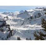 Varied Ski Terrain, Grand Massif, French Alps