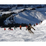 Skiing in Samoens, Grand Massif, French Alps