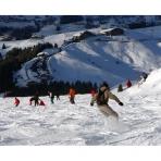 Skiing in Samoens, Grand Massif, French Alps