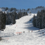 Skiing On-Piste in the Grand Massif, France