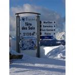 5 Ski Resorts of the Grand Massif, French Alps