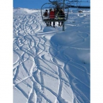 Off-Piste Skiing in the Grand Massif, France