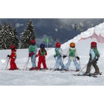 Learn to Ski in the Grand Massif, French Alps